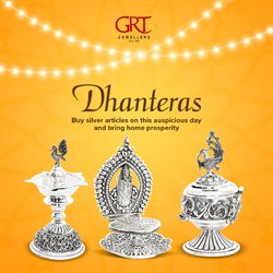 Lamp offers in the GRT Jewellers catalogue in Delhi
