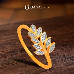 Jewellery offers in the GRT Jewellers catalogue in Bangalore