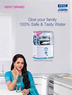 Water Purifier offers in the Kent catalogue in Delhi