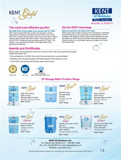 Offers of Water Purifier in Kent