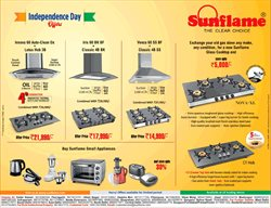 Home & Kitchen offers in the Sunflame catalogue in Aligarh