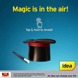 Offers from Idea Cellular in the Kolkata leaflet