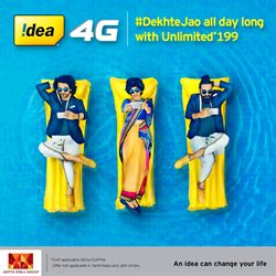 Offers from Idea Cellular in the Bangalore leaflet