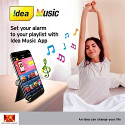 Music offers in the Idea Cellular catalogue in Nashik