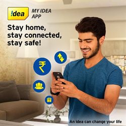 Idea Cellular catalogue in Hyderabad ( More than a month )