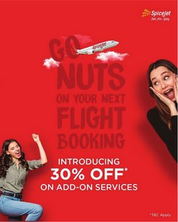 SpiceJet offers in the SpiceJet catalogue ( 1 day ago)