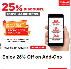 Offers from SpiceJet in the Delhi leaflet