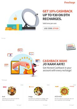 Freecharge offers in the Freecharge catalogue ( 6 days left)