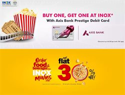 Books & Cinema offers in the Inox Movies catalogue ( 17 days left )