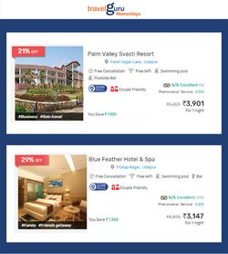 Travel offers in the Travelguru catalogue ( 10 days left)