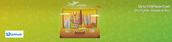 Offers from Yatra Domestic Flight in the Delhi leaflet