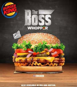 Restaurants offers in the Burger King catalogue in Loni