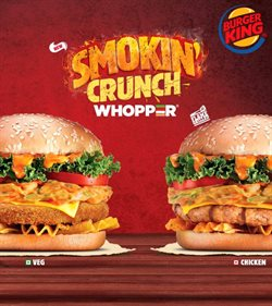 Restaurants offers in the Burger King catalogue in Mumbai ( More than a month )
