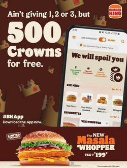 Burger King offers in the Burger King catalogue ( 3 days left)