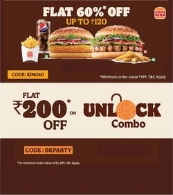 Restaurants offers in the Burger King catalogue ( 11 days left)