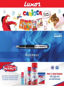 Books & Cinema offers in the Luxor catalogue ( 7 days left)