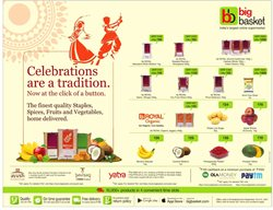 Offers from Big Basket in the Cochin leaflet