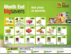 Food offers in the Big Basket catalogue in Delhi