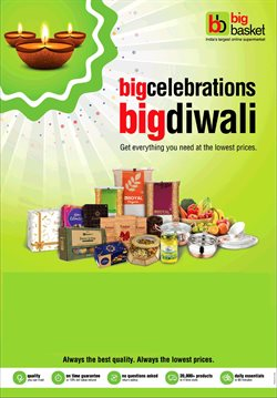 Offers from Big Basket in the Chennai leaflet