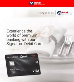 Banks & ATMs offers in the Kotak catalogue ( More than a month)