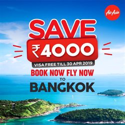 Offers from Air Asia in the Mumbai leaflet