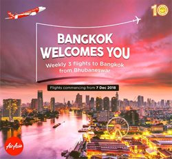 Flights offers in the Air Asia catalogue in Delhi