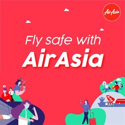 Travel offers in the Air Asia catalogue ( 12 days left )