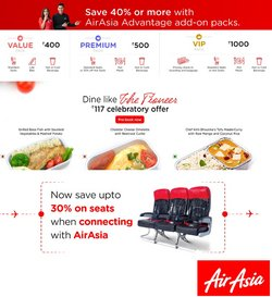 Travel offers in the Air Asia catalogue ( 2 days left)