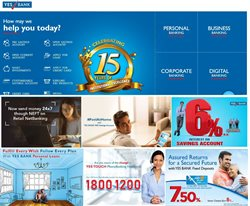 Banks & ATMs offers in the Yes Bank catalogue in Bangalore ( 28 days left )