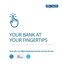 Banks & ATMs offers in the Yes Bank catalogue in Chandigarh ( 13 days left )