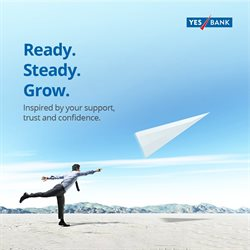 Banks & ATMs offers in the Yes Bank catalogue ( More than a month )