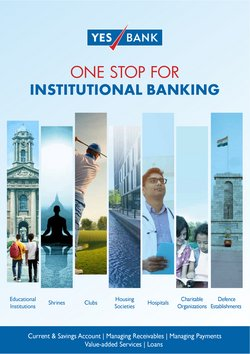 Banks & ATMs offers in the Yes Bank catalogue ( 7 days left)