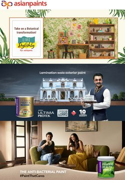 Home & Kitchen offers in the Asian Paints catalogue ( Expires today)