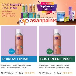 Home & Kitchen offers in the Asian Paints catalogue ( 5 days left)