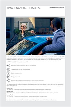 Offers of Insurance in BMW