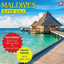Travel offers in the Akbar Travels catalogue ( 3 days left )