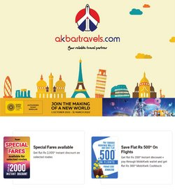 Travel offers in the Akbar Travels catalogue ( 3 days left)