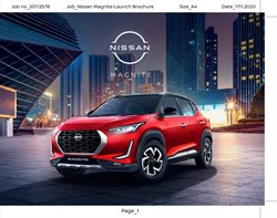 Cars, motorcycles & spares offers in the Nissan catalogue in Delhi ( 21 days left )