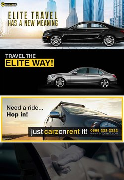 Carz On Rent offers in the Carz On Rent catalogue ( Expires tomorrow)