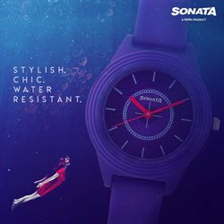 Jewellery offers in the Sonata Watches catalogue in Jamshedpur