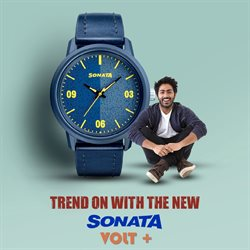 Offers from Sonata Watches in the Bangalore leaflet