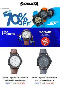 Sonata Watches offers in the Sonata Watches catalogue ( Expires tomorrow)