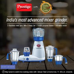 Offers from Prestige Smart Kitchen in the Ahmedabad leaflet