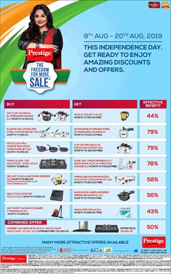 Offers from Prestige Smart Kitchen in the Chennai leaflet