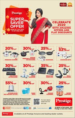 Home & Kitchen offers in the Prestige Smart Kitchen catalogue in Bangalore ( 3 days left )