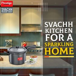 Home & Kitchen offers in the Prestige Smart Kitchen catalogue in Ahmedabad ( 26 days left )