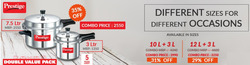 Offers from Prestige Smart Kitchen in the Bangalore leaflet