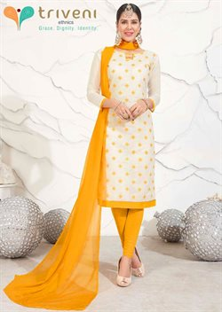 Offers from Triveni Ethnics in the Delhi leaflet