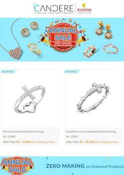 Jewellery offers in the Candere catalogue ( 11 days left)