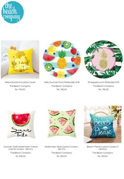 Offers of Bedding in The Beach Company